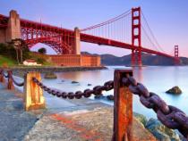 Đến Mỹ du lịch bạn bắt buộc phải tham quan Cây Cầu Vàng San Francisco