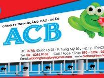 Các dự án ACB thi công bảng hiệu quảng cáo