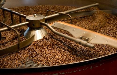 Rang hạt cafe bằng súng thổi hơi nóng Metabo