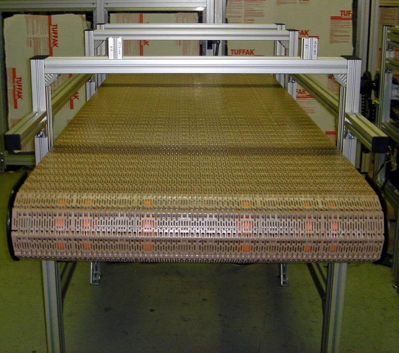 đặc điểm của băng tải lưới chịu nhiệt 4
