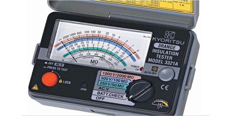 Sản phẩm đo điện trở cách điện