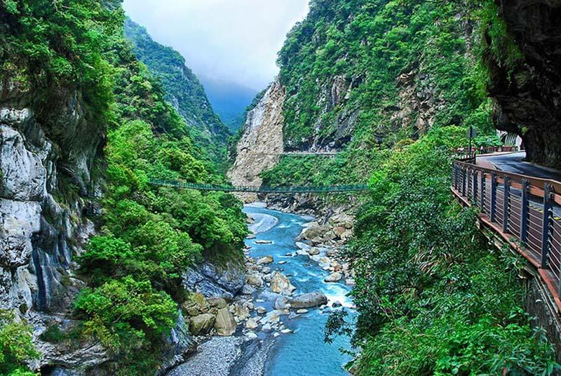 Một trong những công viên quốc gia lớn nhất Đài Loan